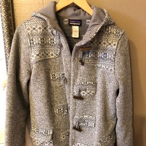 Patagonia better sweater Icelandic toggle coat